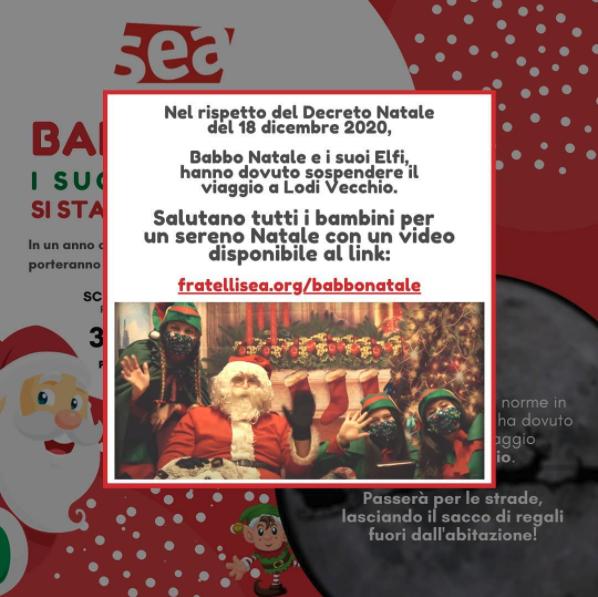 Gli Elfi con Babbo Natale, salutano tutti i bambini!🧝🏼♀️🎅🏼🧝🏼♂️